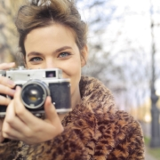 Women with camera